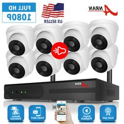 ANRAN 1080P Wireless Camera Security System CCTV Home 8CH NV