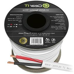 12 AWG CL2 OFC in Wall Speaker Wire, GearIT Pro Series 12 AW