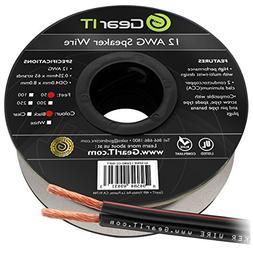 12AWG Speaker Wire, GearIT Pro Series 12 AWG Gauge Speaker W