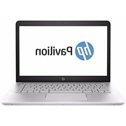 2018 HP 14.0 Inch Flagship Notebook Laptop Computer  Silver