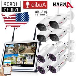 ANRAN 2Way Audio Security Camera System Outdoor Wireless Hom
