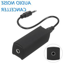 3.5mm Aux Cable Jack Ground Loop Noise Isolator FR Car Home