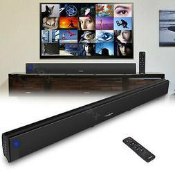 30W 3D Sound Bar System TV Home Theater Wireless Soundbar Bu