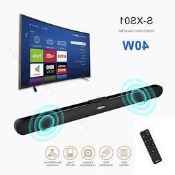 40W Home 3D Surround TV Sound Bar System Wireless Soundbar w