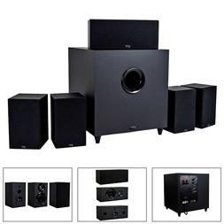 5.1 Channel Home Theater Stereo Audio System 5x100W Speakers