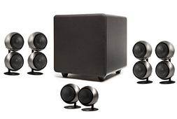 Orb Audio 5.1 Home Theater Speaker System  in Hand Polished