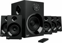 5.1 Logitech Speaker Surround Sound System PC PS4 Xbox TV Ba