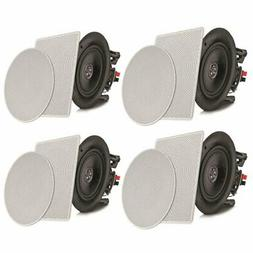 """Pyle 8"""" 4 Bluetooth Flush Mount In-wall In-ceiling 2-Way S"""