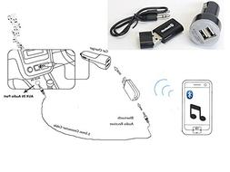 E2E Bluetooth Audio Music Streaming Adapter with 3.5mm Stere