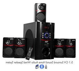 Frisby FS5010BT 800Watt Bluetooth 5.1 Surround Sound Home Th