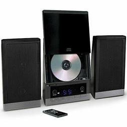 Audio Compact Home CD Music Shelf System Vertical-loading wi