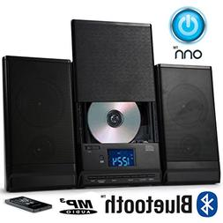 ONN Bluetooth Audio Compact Home CD Music Shelf System Limit