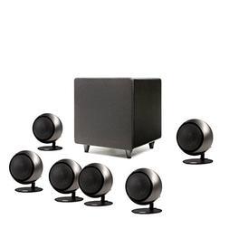 Orb Audio Mini 5.1 Plus - Hand Polished Steel