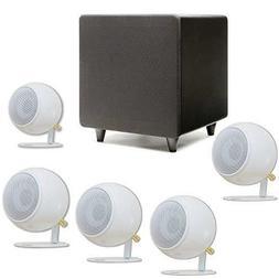 Orb Audio Mini 5.1 White Home Theater Speaker System