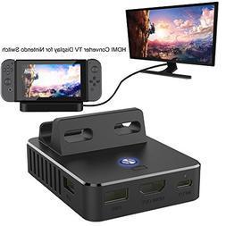 Outsta For Nintendo Switch Mini Charging Dock Base HDMI Conv