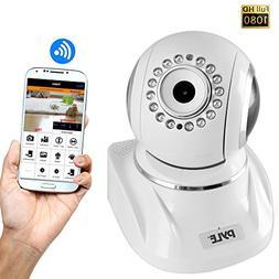 Pyle Indoor Wireless IP Camera - HD 1080p Network Security S