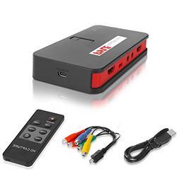 Pyle Video Game Capture Card - AV Recorder Converter, HDMI S