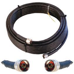 Wilson Electronics 50 ft. Black Wilson400 Ultra Low Loss Coa