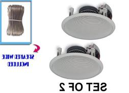 Yamaha Custom Easy-to-install In-Ceiling Flush Mount 2-Way 1