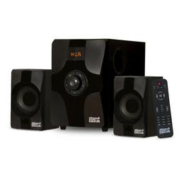 Acoustic Audio AA2131 Bluetooth Home 2.1 Speaker System for