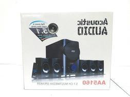 Acoustic Audio AA5160 5.1-channel 500-watt Home Theater Spea