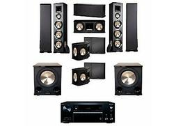 BIC Acoustech PL-980 7.2 Home Theater System-NEW!! PL-200II-