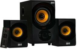 Acoustic Audio AA2170 Home 2.1 Speaker System FM Tuner USB C