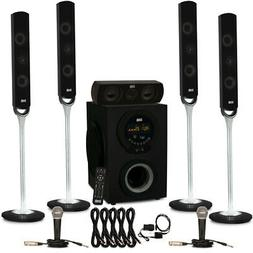 Acoustic Audio AAT3000 Bluetooth 5.1 Speaker System Optical
