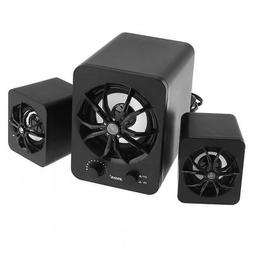 Acoustic Audio Home 2.1 3 Channel Speaker System for Multime
