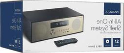 Insignia All In One Stereo Shelf Audio System with Bluetooth