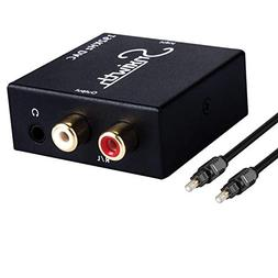 Snxiwth Digital to Analog Converter 192kHz DAC Coaxial Optic