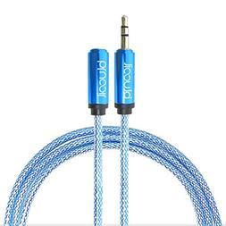 Blucoil Audio Premium Earphone and Headphone 3.5mm Extension