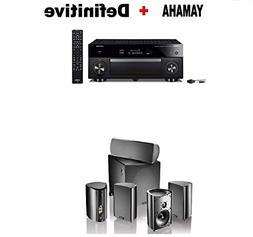 Yamaha AVENTAGE RX-A1080 7.2-ch AV Receiver Works Alexa. + D