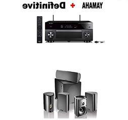 Yamaha AVENTAGE RX-A2080 9.2-ch AV Receiver Works Alexa. + D