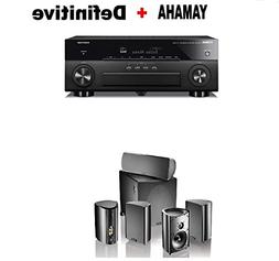 Yamaha AVENTAGE RX-A680 7.2-ch 4K Ultra HD AV Receiver with