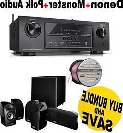 Denon AVR-S710W 7.2 Channel Full 4K Ultra HD A/V Receiver wi
