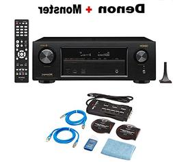 Denon AVR-X1400H 7.2 Channel Full 4K Ultra HD AV Receiver wi