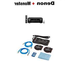 Denon AVR-X1500H 7.2 CH 80W 4K Ultra HD WiFi/Bluetooth AV Re