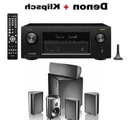 Denon AVR-X3400H 7.2 Channel Full 4K Ultra HD AV Receiver +