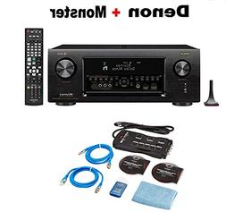 Denon AVR-X4400H 9.2 Channel AV Receiver with Wi-Fi, Dolby A