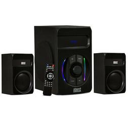 Acoustic Audio Bluetooth 2.1 Speaker System with LED Lights,