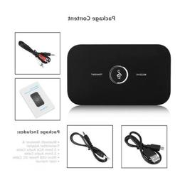 Bluetooth 2-In-1 3.5mm Wireless Audio Adapter Car Kit for TV