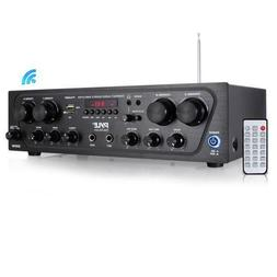 Bluetooth Audio Amplifier, 4-Ch. Audio Source Stereo Receive