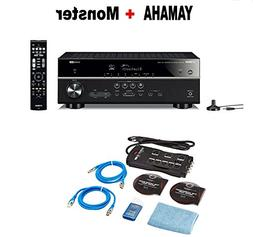 Yamaha Bluetooth Audio & Video Component Receiver Black  + M