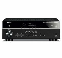 Yamaha RX-V385 5.1-Channel 4K Ultra HD AV Receiver with Blue