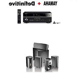 Yamaha Bluetooth Audio & Video Component Receiver Black  + D