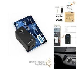 TaoTronics Bluetooth Receiver, Portable Wireless Car Aux Ada