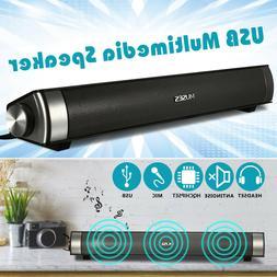 USB Multimedia Sound Bar Speaker TV Home Theater Soundbar Sy