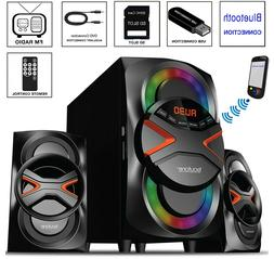 bluetooth speaker system home audio stereo bass