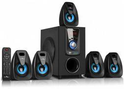 Bluetooth Speaker System Surround Sound Set Wireless Home Th